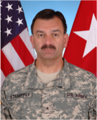 USA ARMY BRIGADIER GENERAL JOHN F. STAMPFLI