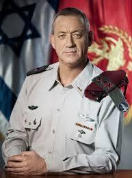 IDF Commander General - Benjamin Gantz.