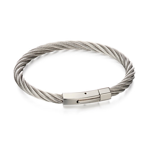 Twisted Wire Cable Bracelet