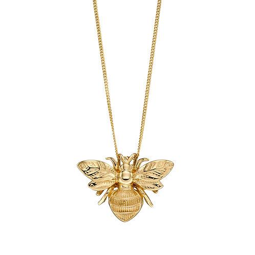 9ct Gold Bee Pendant
