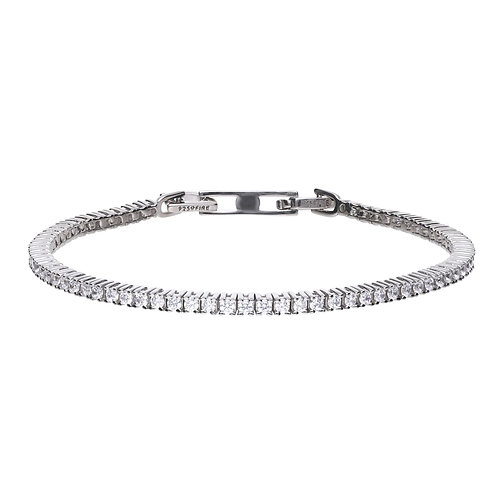Fine Claw Set Tennis Bracelet