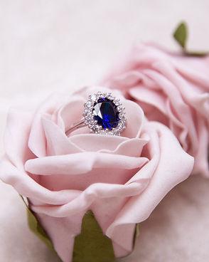 Royal Blue Ring Just like princess Dianna's engagement ring