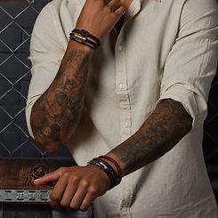 Leather Mens Bracelets