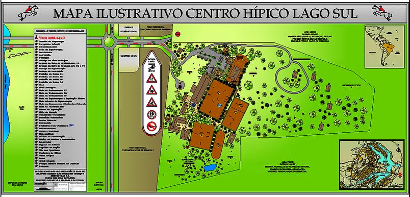 Master Plan do Centro Hípico Lago Sul