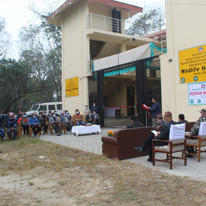 Official Opening of Wildlife Hospital in Nepal