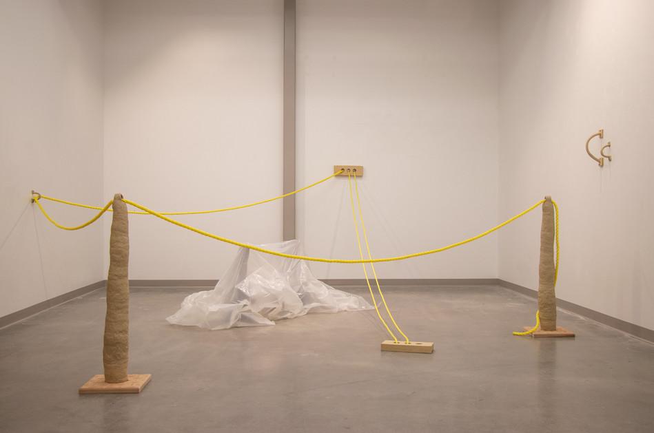 ENTER HERE, installation view, 2020