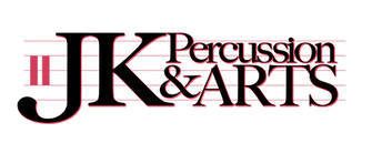 J.K. Percussion and Arts Logo