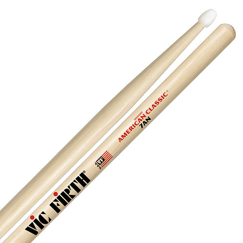 VIC FIRTH AMERICAN CLASSIC 7AN DRUMSTICKS - NYLON TIP