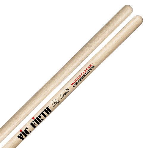 Vic Firth Alex Acuna Conquistador Timbale Sticks Clear