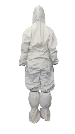caremile protective suit, type 4, level C, PPE