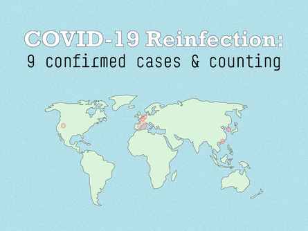 Suspected case of COVID-19 reinfection in South Korea