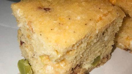 Corn Bread & Hatch Pepper Bread