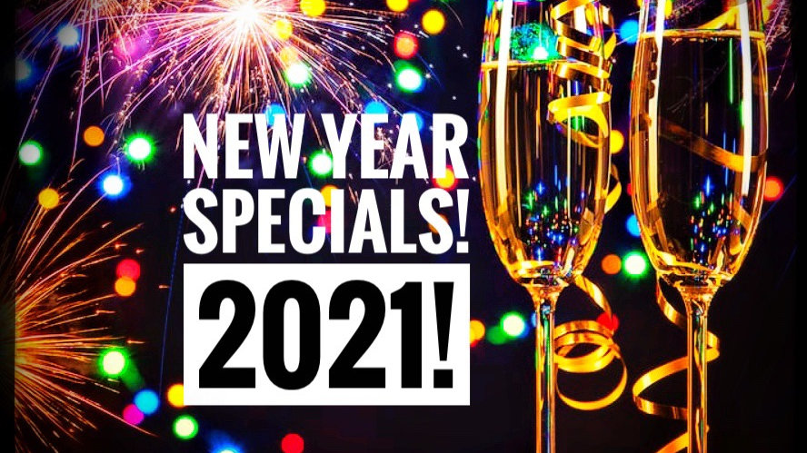 New Years Specials!