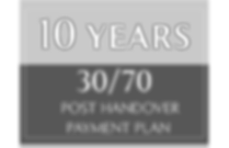 30-70 payment plan for 10 years