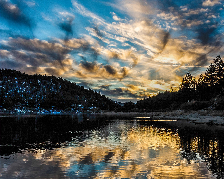 Winter Sunset 8 x 10