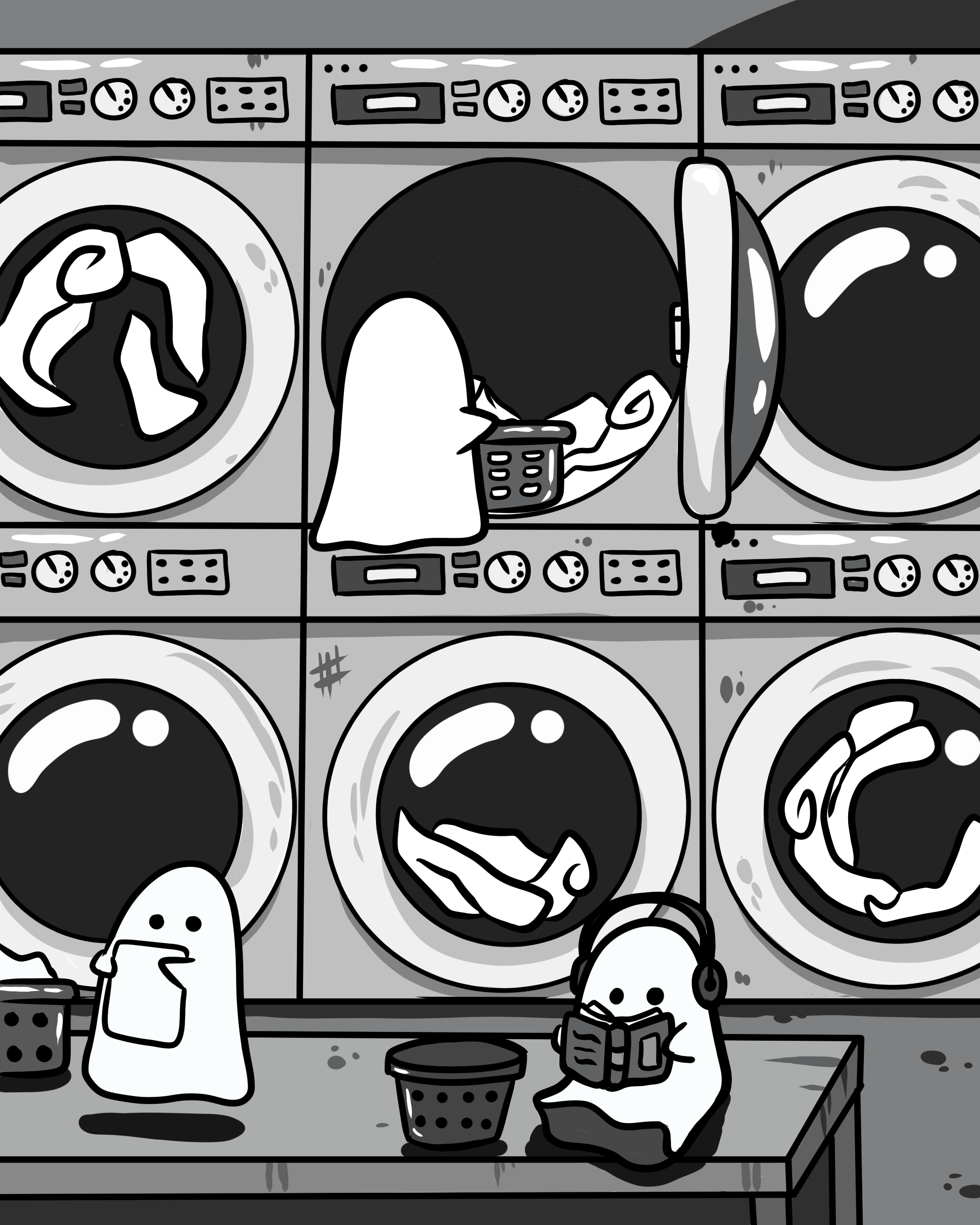 ghost laundry