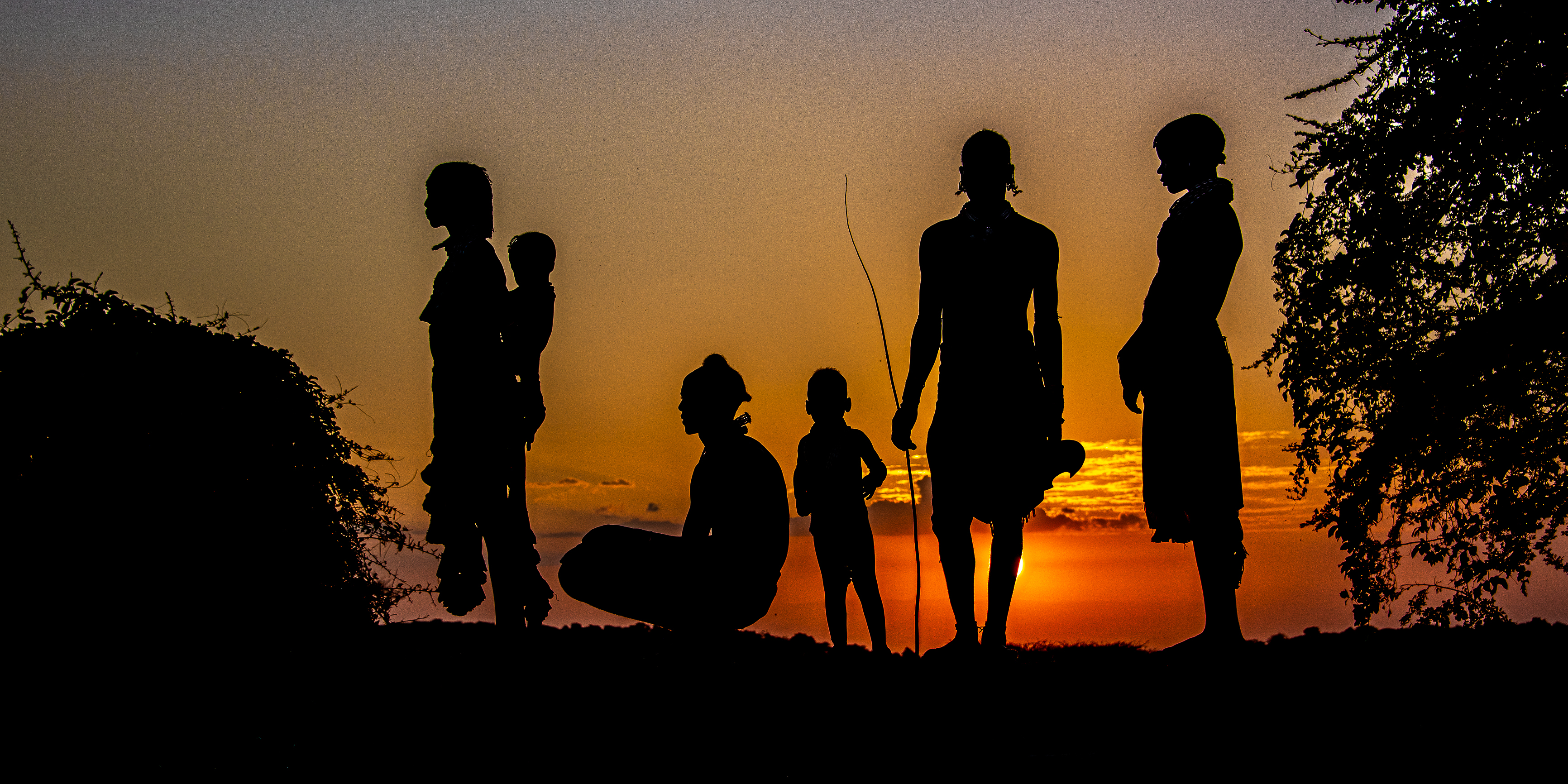 Hamar Tribe at Sunset-4252