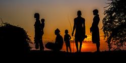 Hamar Tribe at Sunset-4252