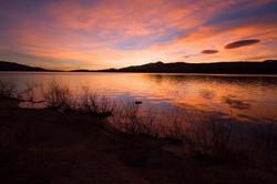 Sunrise at Big Bear Lake