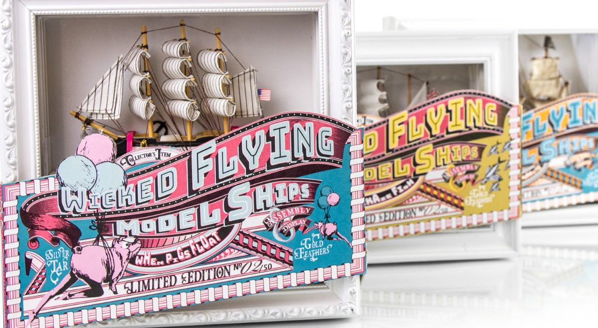 Wicked Flying Model Ships