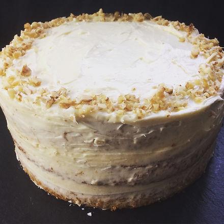 Triple Layer Naked GF Carrot Cake