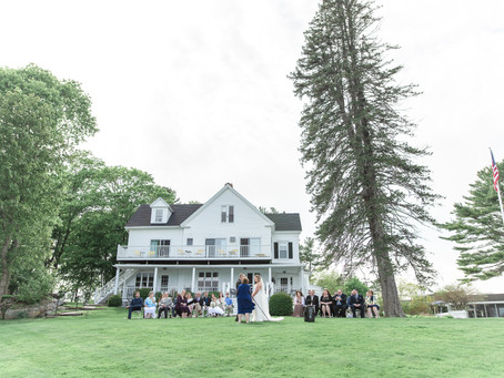 York Maine Destination Wedding Photography | The Dockside Restaurant | Katie + Mike