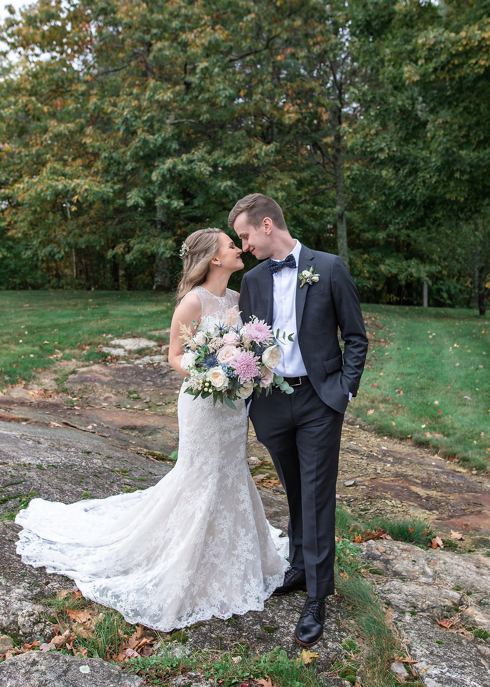 Fall wedding photography at Beech Hill Barn