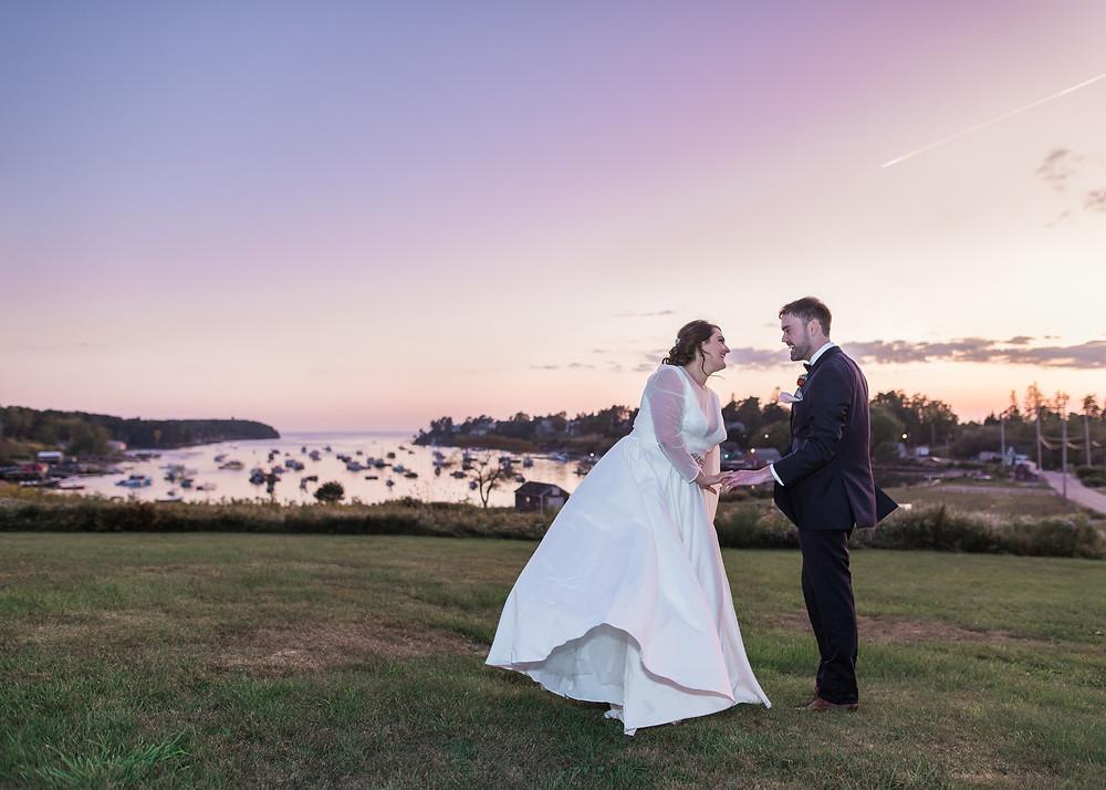 Bailey Island Maine wedding photography