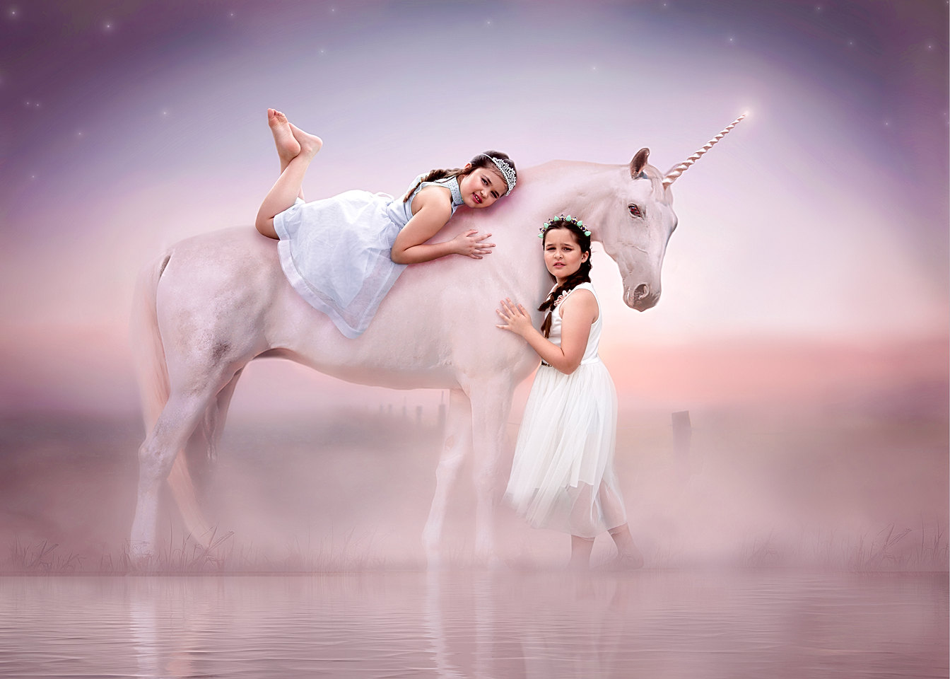 Unicorn photography in Maine and Florida