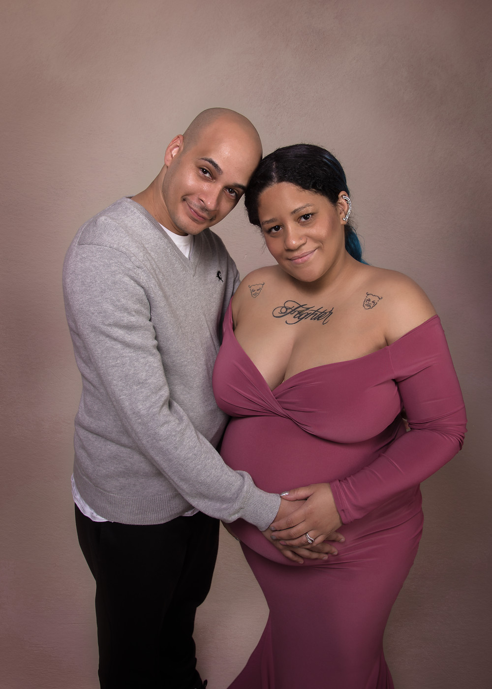 We provide maternity, newborn and family photography in our Portland, Maine photography studio.