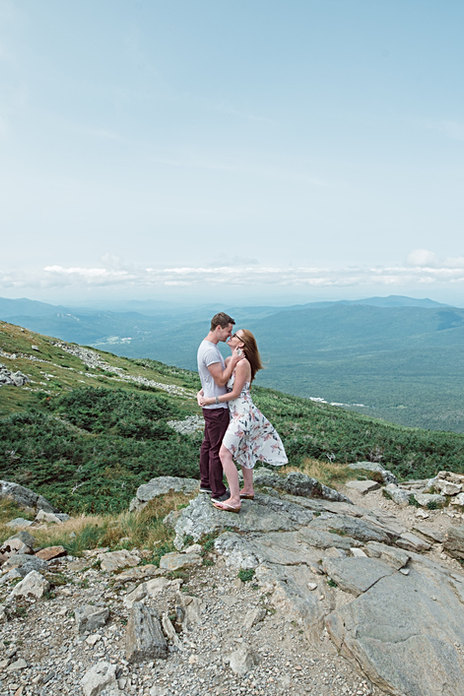 Adventure Engagement Photography New Hampshire