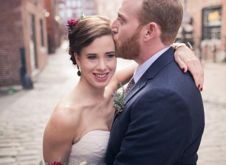 Maryann + Dustin | Cape Elizabeth, Maine | Boho Fall Wedding