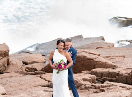 Acadia National Park Elopement Photography | Seal Harbor Wedding | Geoff + Jean