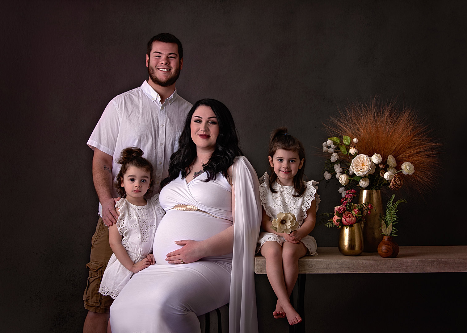 Maternity and family photographer in Maine