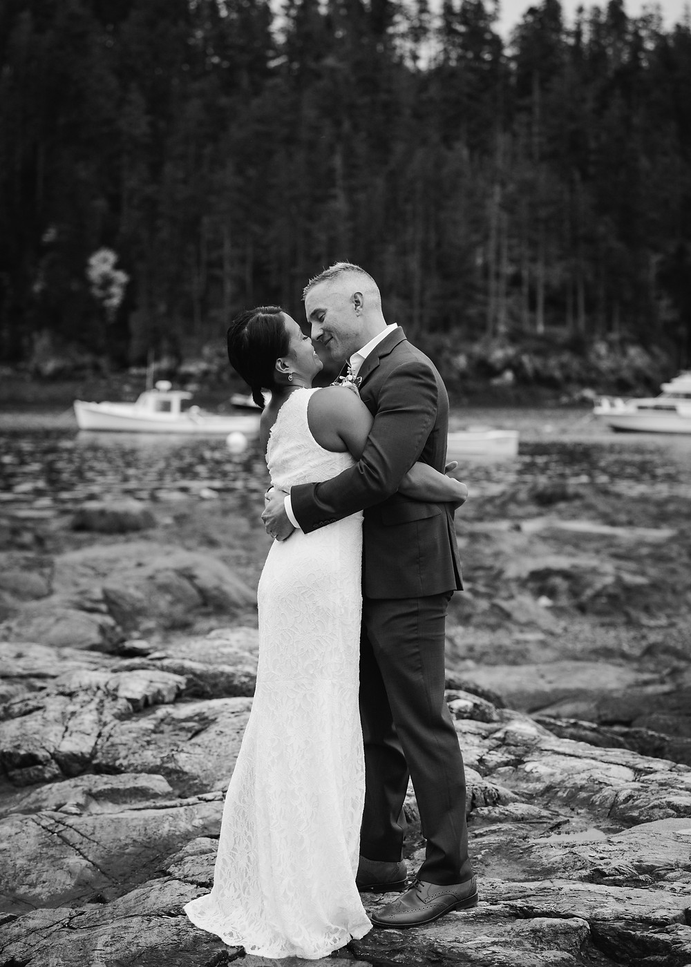 Maine elopement photography
