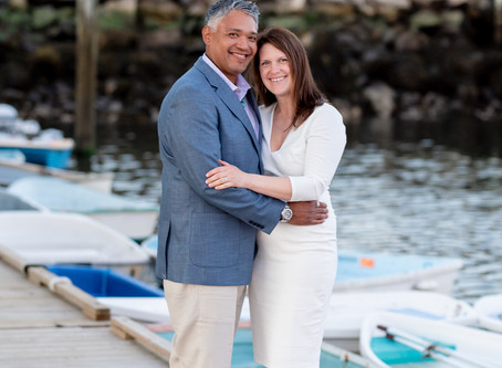 The View at Pepperrell Cove Wedding Photography | Paul + Patty's Welcome dinner