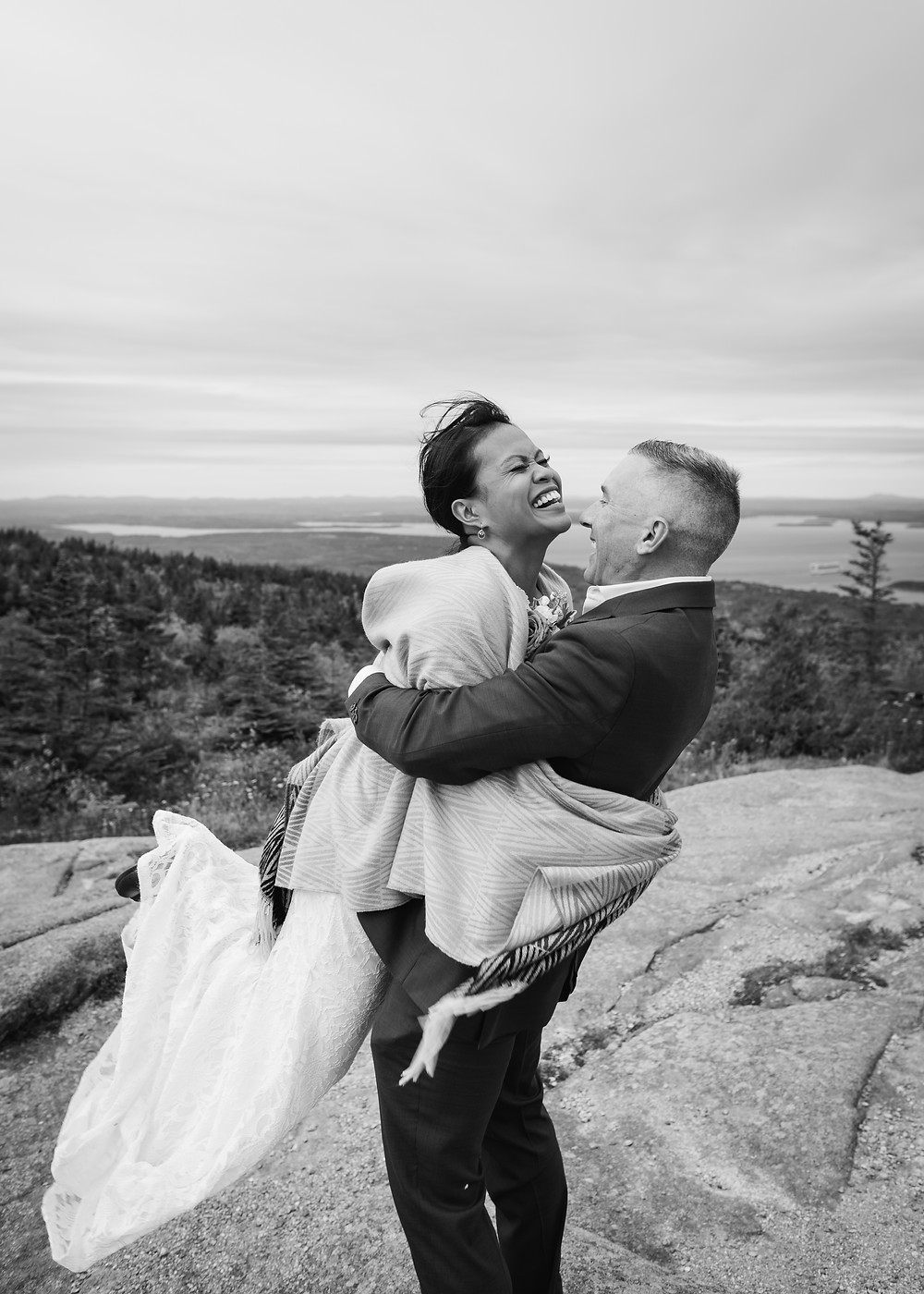 Acadia National Park Elopement Photographer