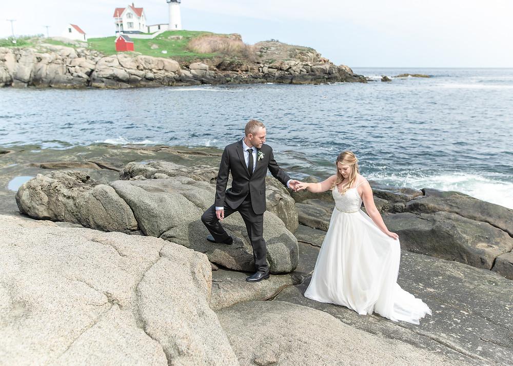 York, Maine wedding and elopement photographer