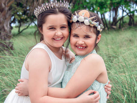 Sisters Reverie Session | Pompano Beach Kids Photography