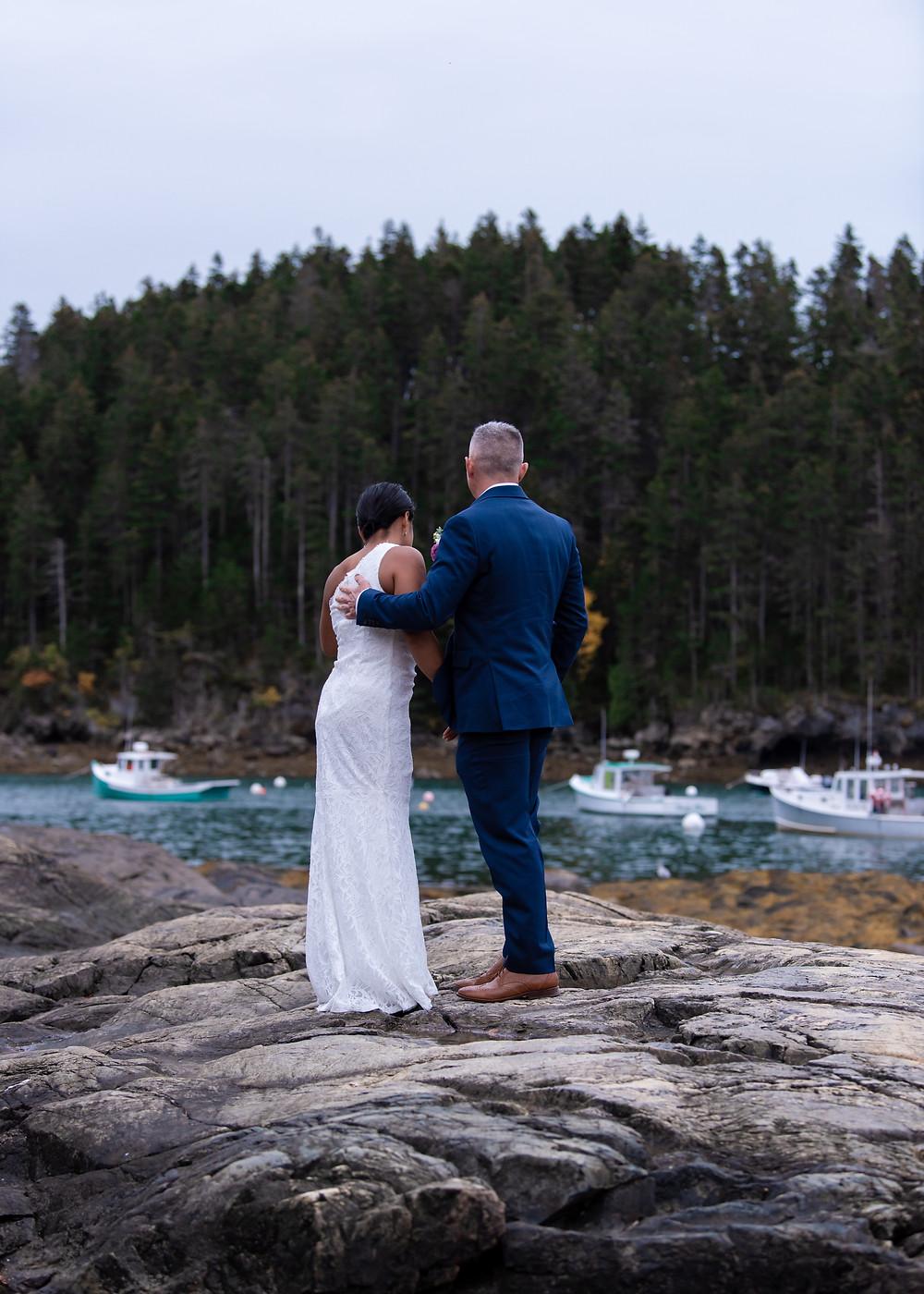 Bar Harbor Maine elopement photographer