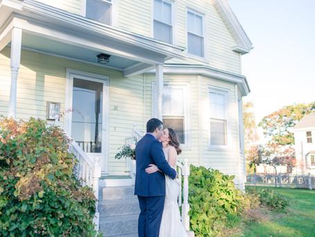 Caitlin + Paul | Portland, Maine Surprise Wedding |