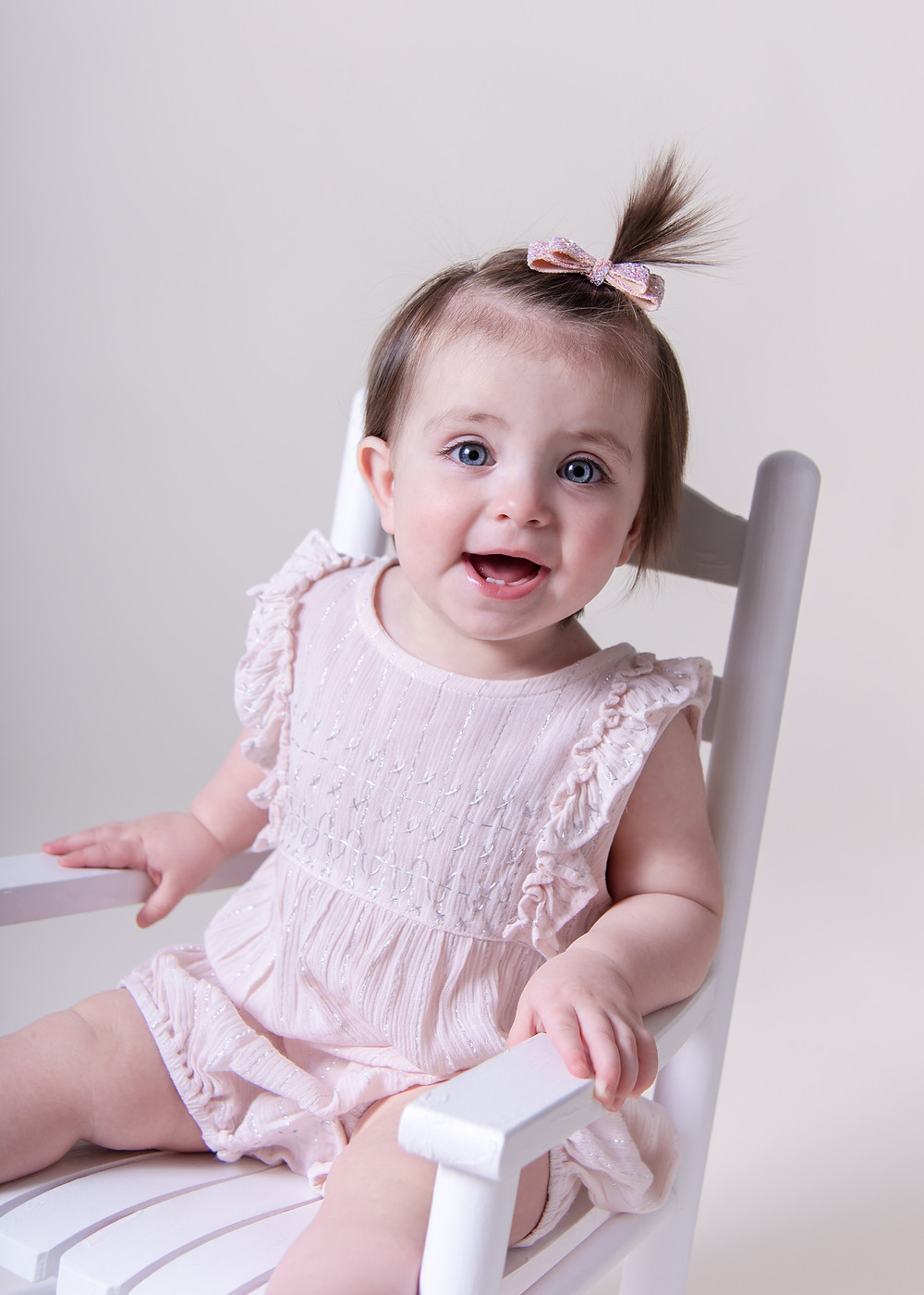 First year birthday photography at our professional photography studio in Portland, Maine