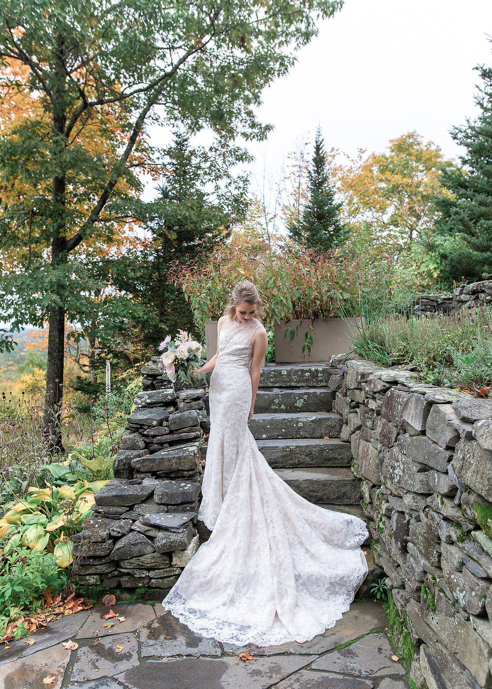 Fall wedding at Beech Hill Barn in Maine