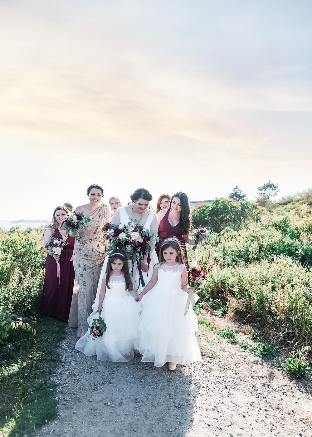 Bailey Island wedding photography