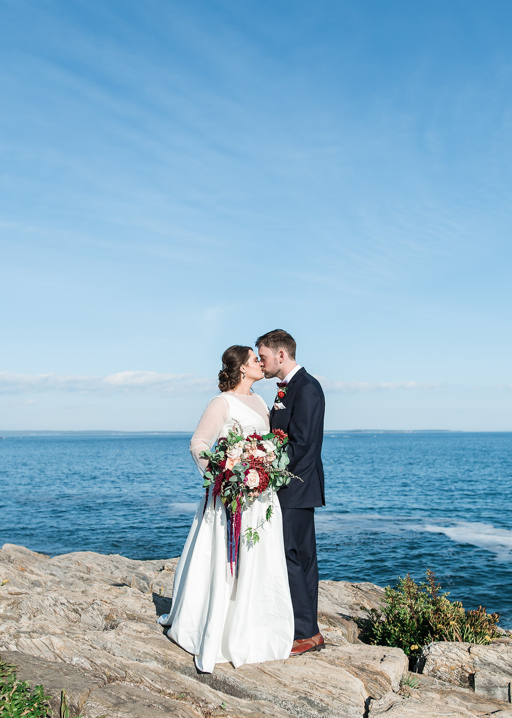 Maine wedding photographer in Bailey Island