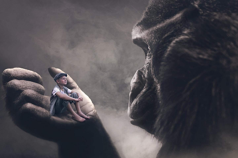 King Kong Photoshoot Kids
