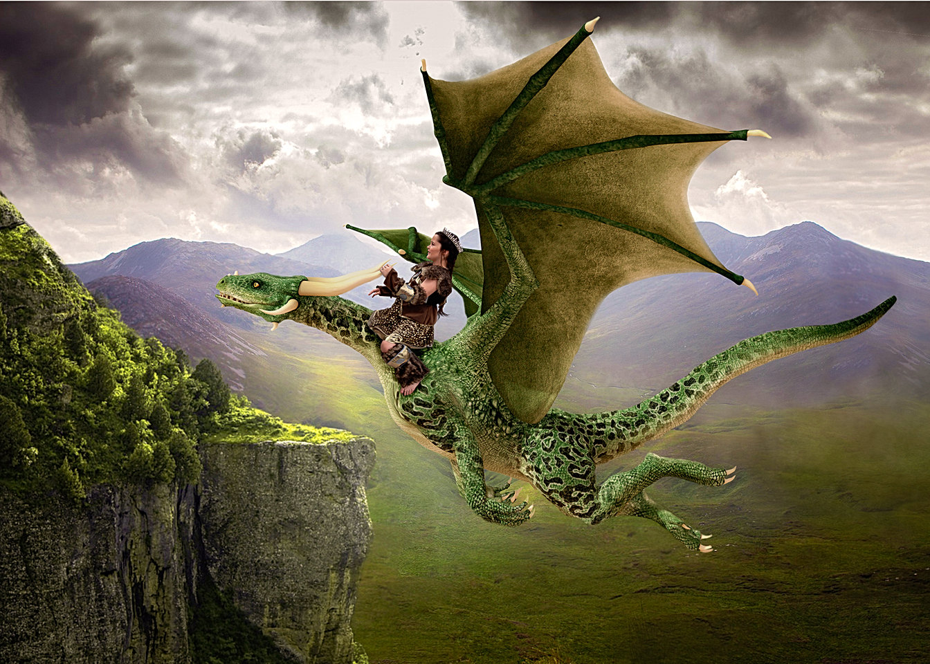 Dragon Photorgaphy Session for Kids