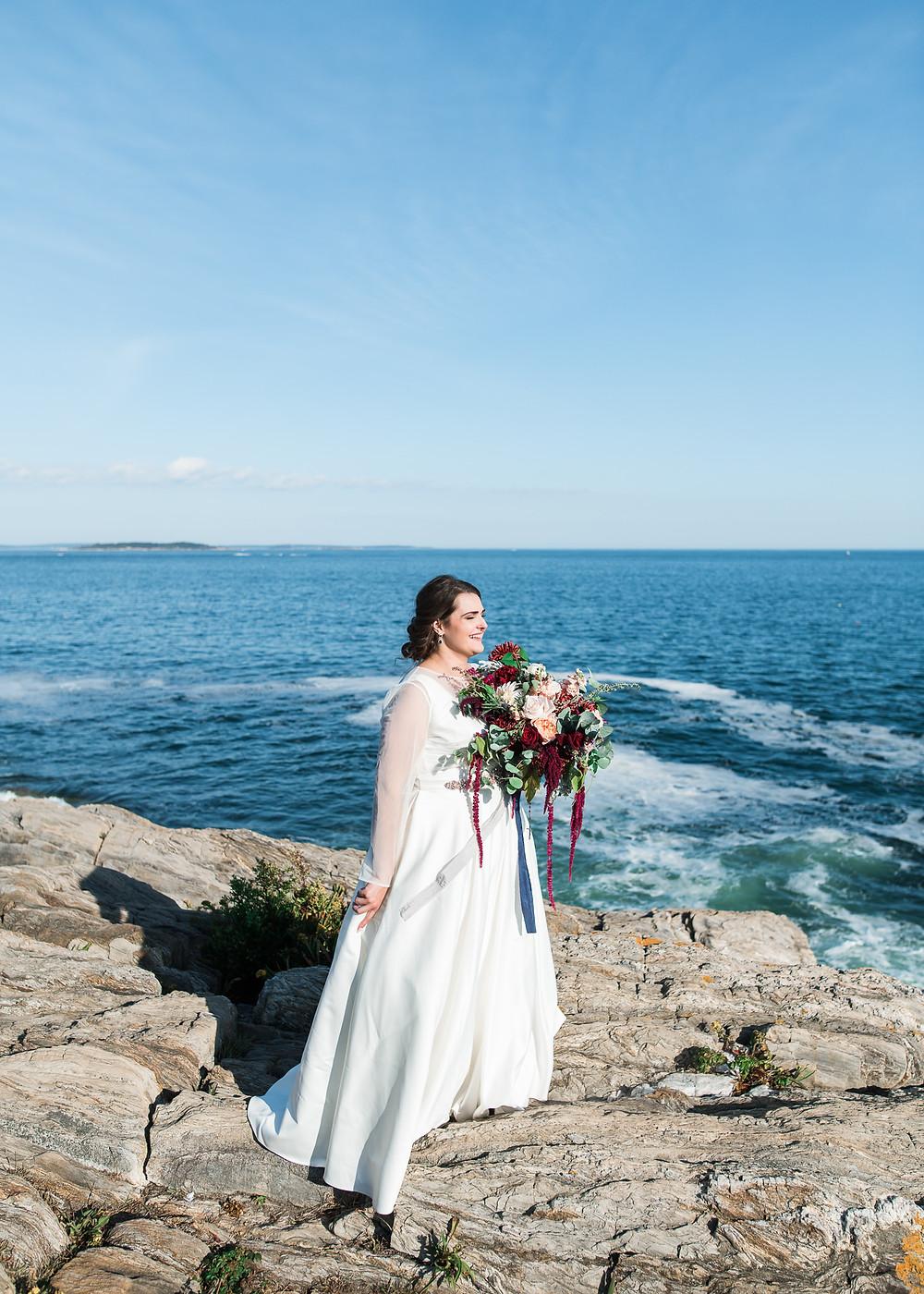 Bailey Island Maine wedding photographer