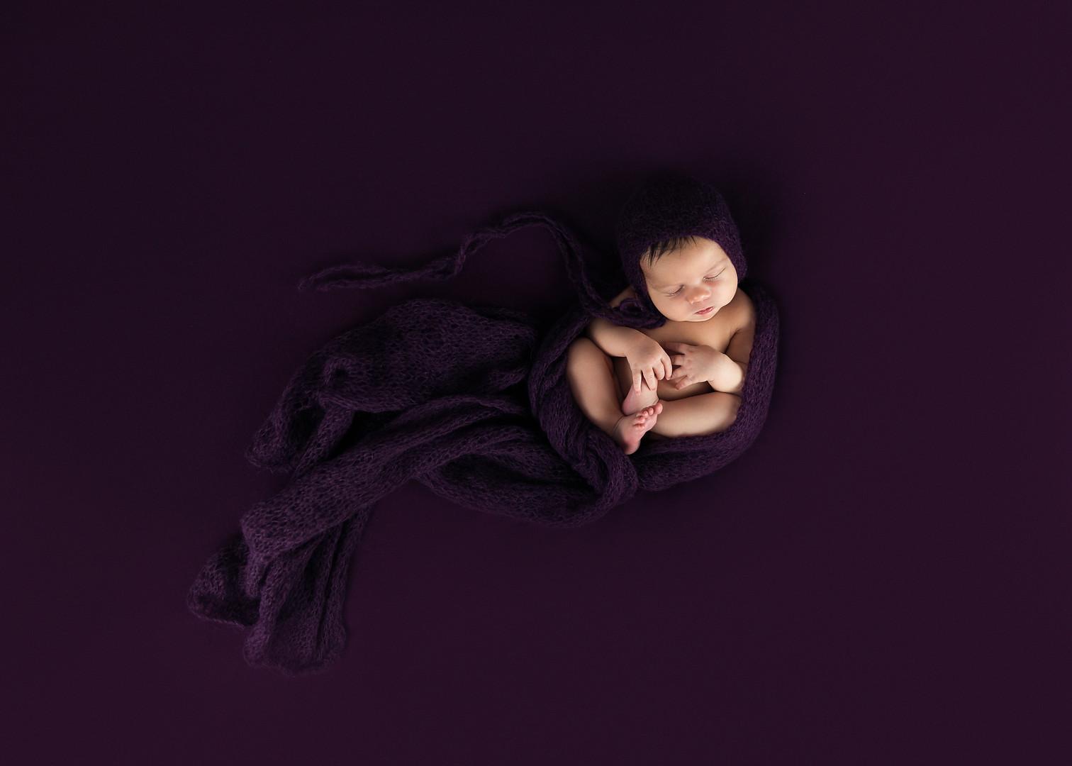 Newborn Photography Studio Maine
