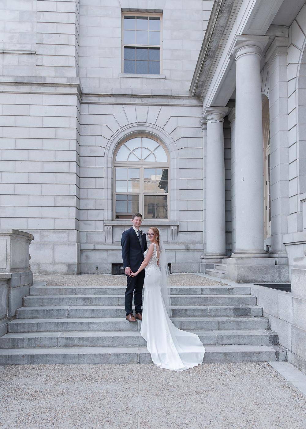 Portland Maine city hall wedding photographer